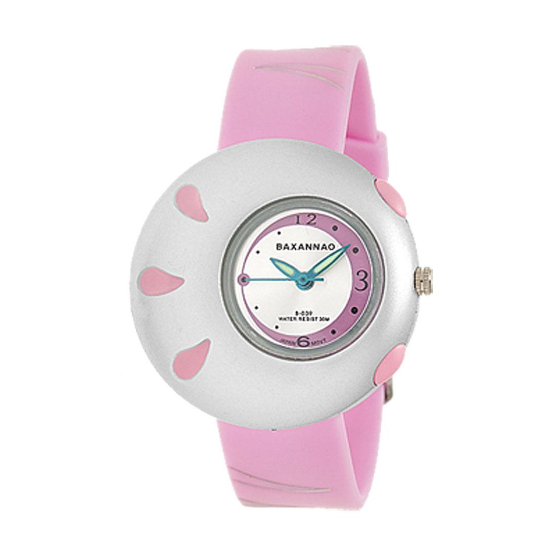 Stylish Pink Pasnew Sports Wrist Watch for Students