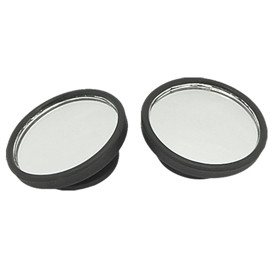 2pcs Universal Vehicle Car Wide Angle Round Rearview Blind Spot Convex Mirror