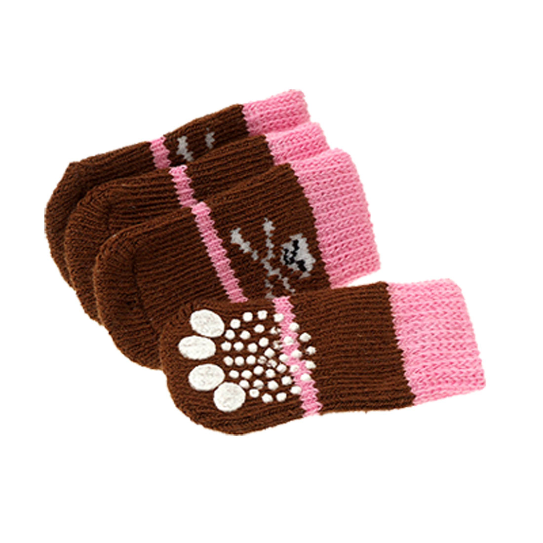 Skull Pattern Dog's Pet Puppy Soft Socks