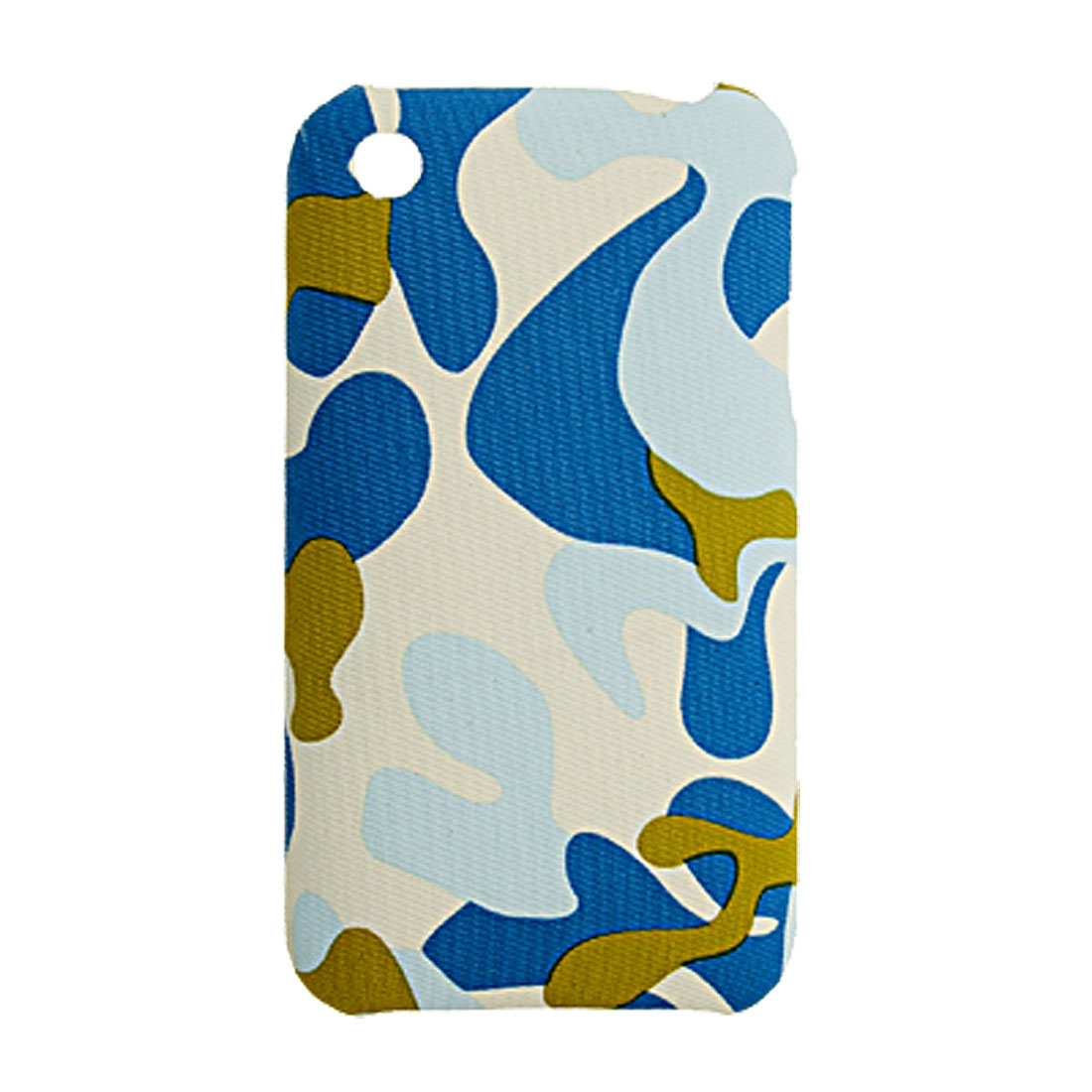 Nonskid Camouflage Coated Plastic Back Shell Case for iPhone 3G