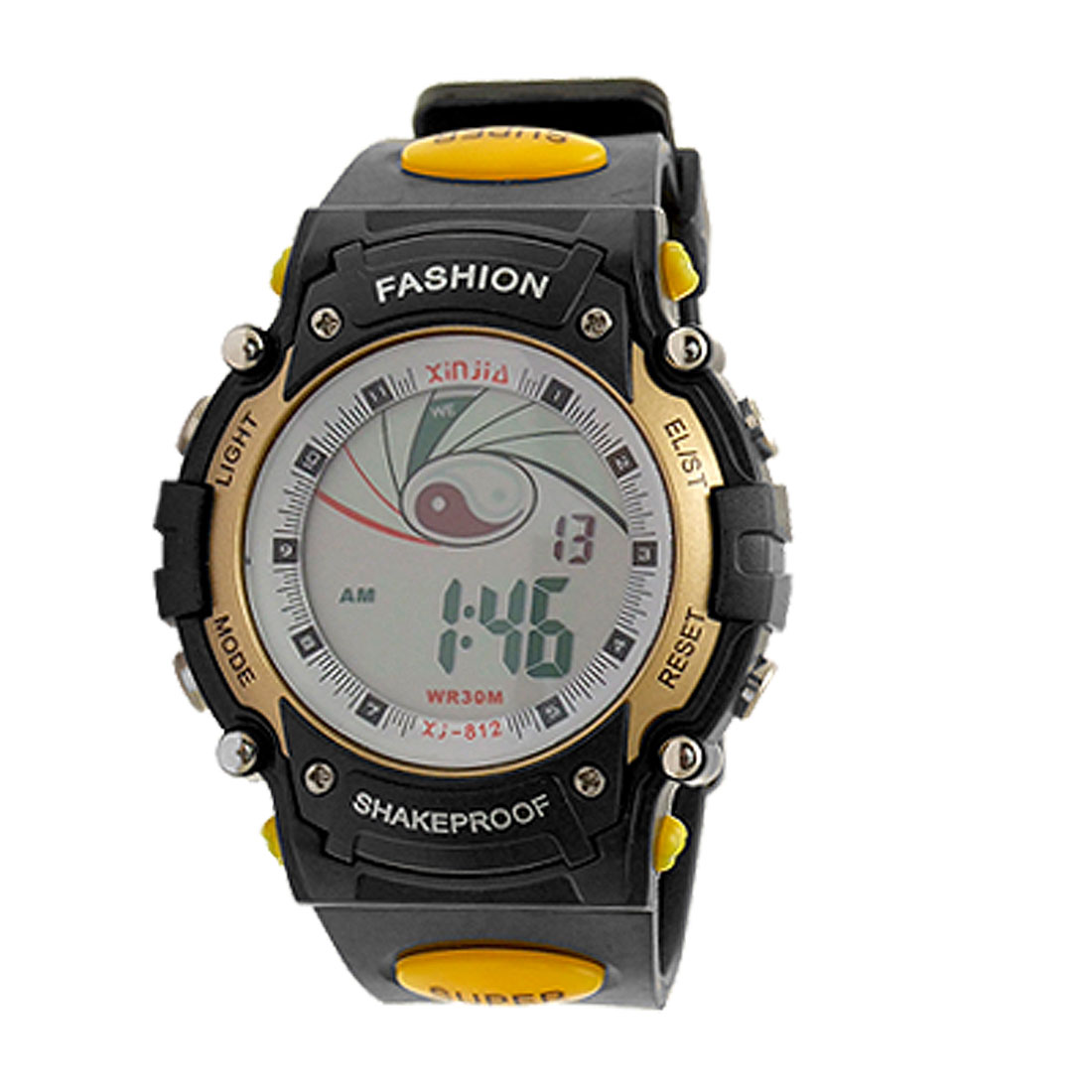 Flash Light Fashion Men's Digital Sports Wrist Watch