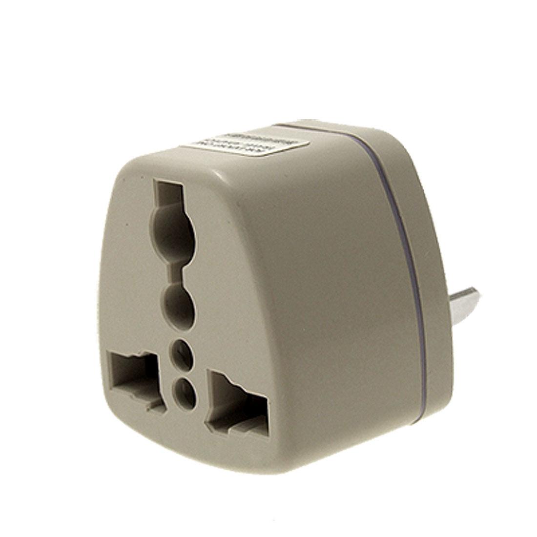EU US UK to 2 Pin AU AC Plug Adapter Travel Converter 250VAC