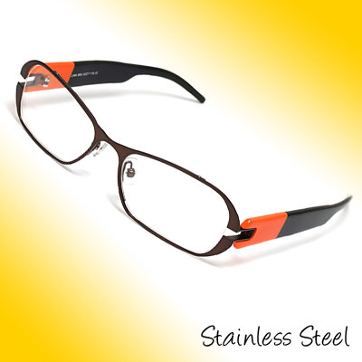 Stainless Steel Full Rim Optical Eyewear Eyeglasses Frame