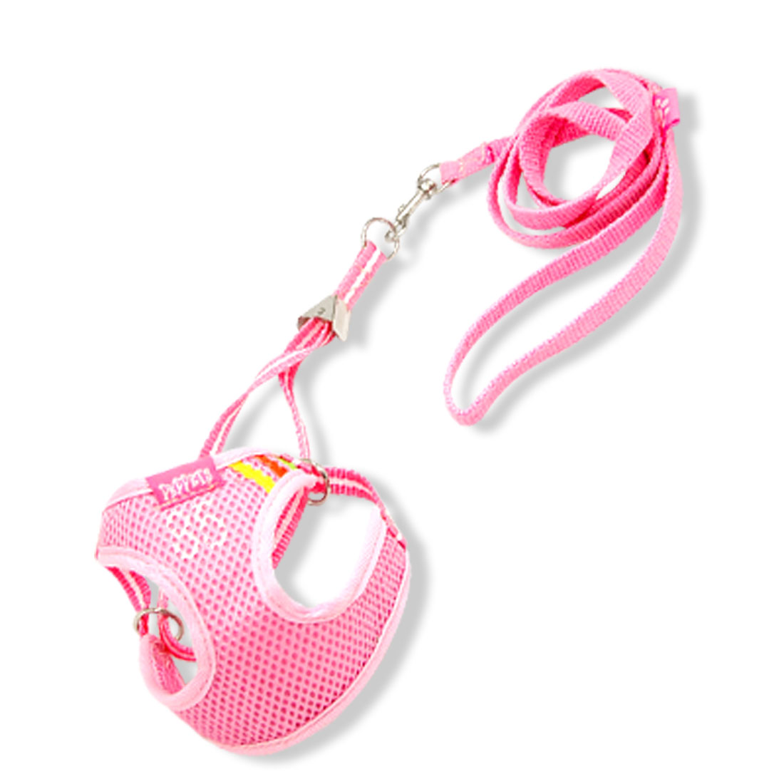 Doggie's Pink Vest Style Harness Leash Strap Size 3