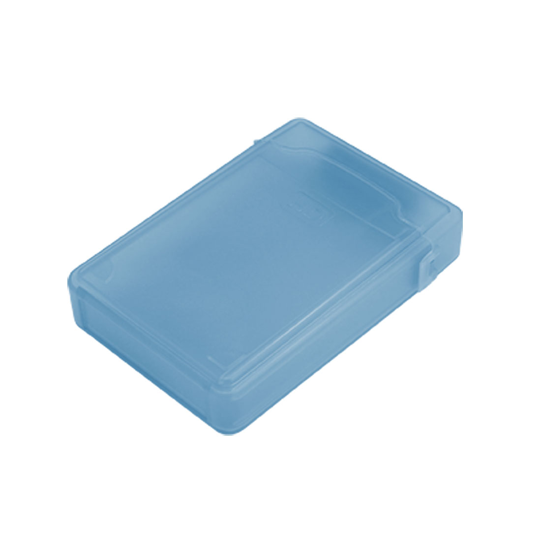 Portable IDE SATA Hard Drive HDD Store Tank Box Case Blue 3.5 Inch
