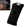 Black Sports Knee Support Elastic Brace Pad Wrap Protector