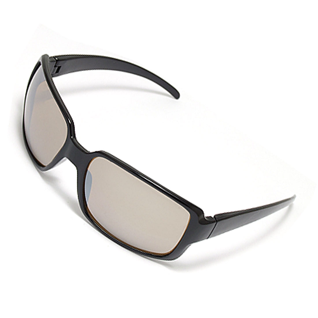 Black Full Rim Plastic Frame Fashion Unisex Sunglasses