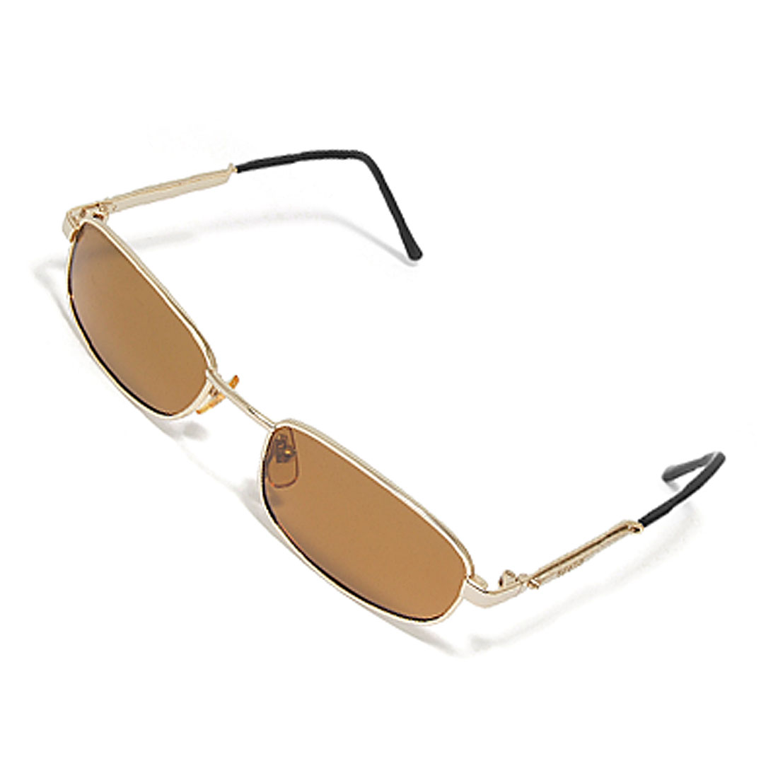 Adult Men's Brown Polarized Lens Eyewear Glasses Sunglasses