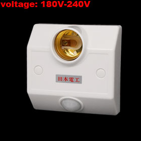 R138 Energy-saving Light IR Induction Bulb Lamp Holder