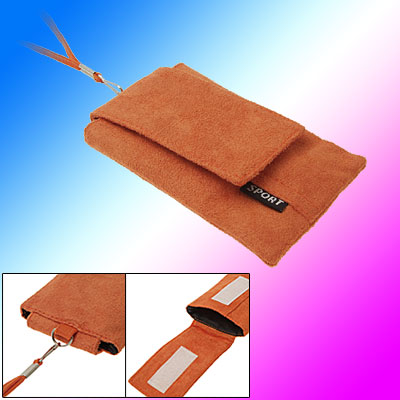 Neck String Style Flannel Mobile Bag Case for Phone