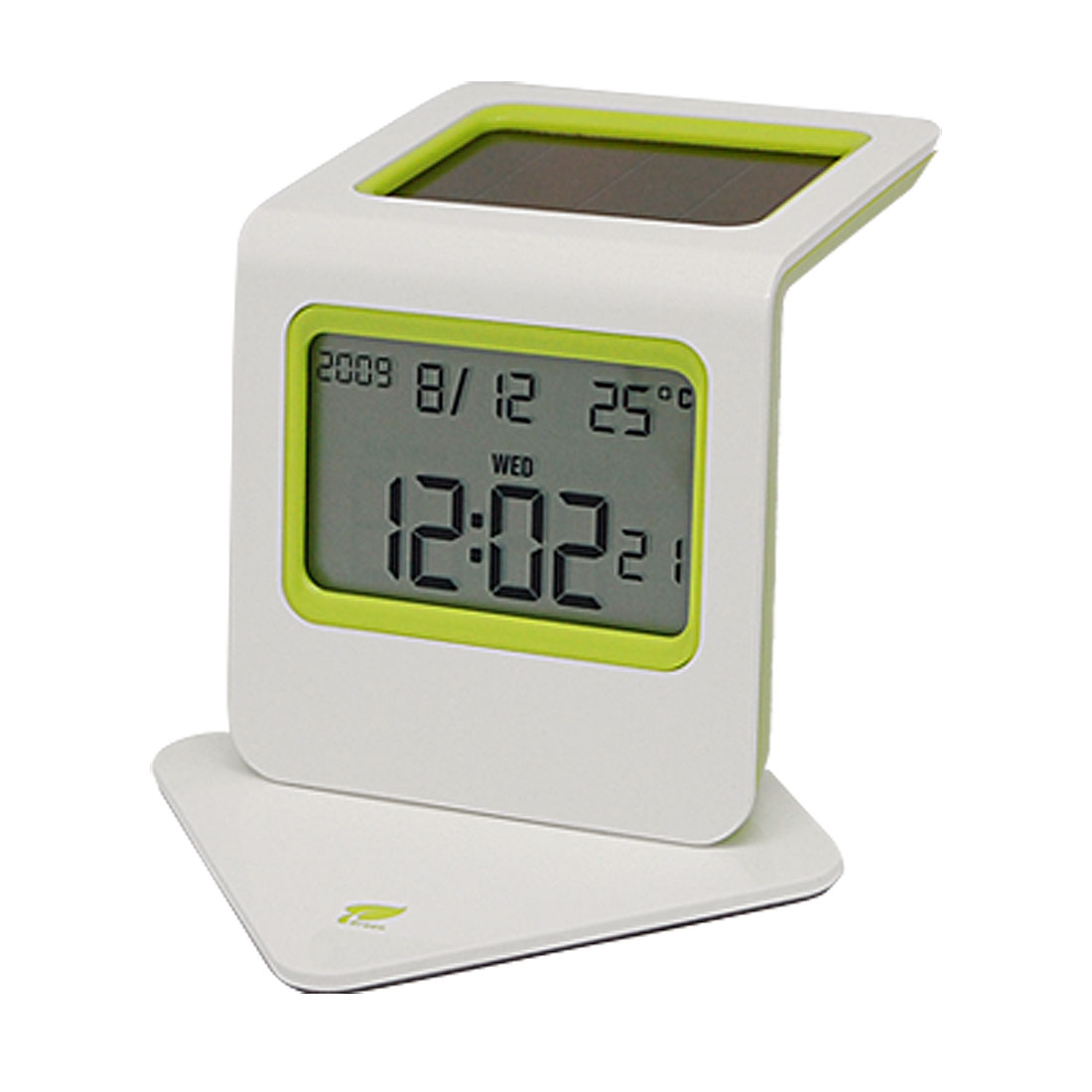 LCD Calendar Temperature Snooze Digital Alarm Clock