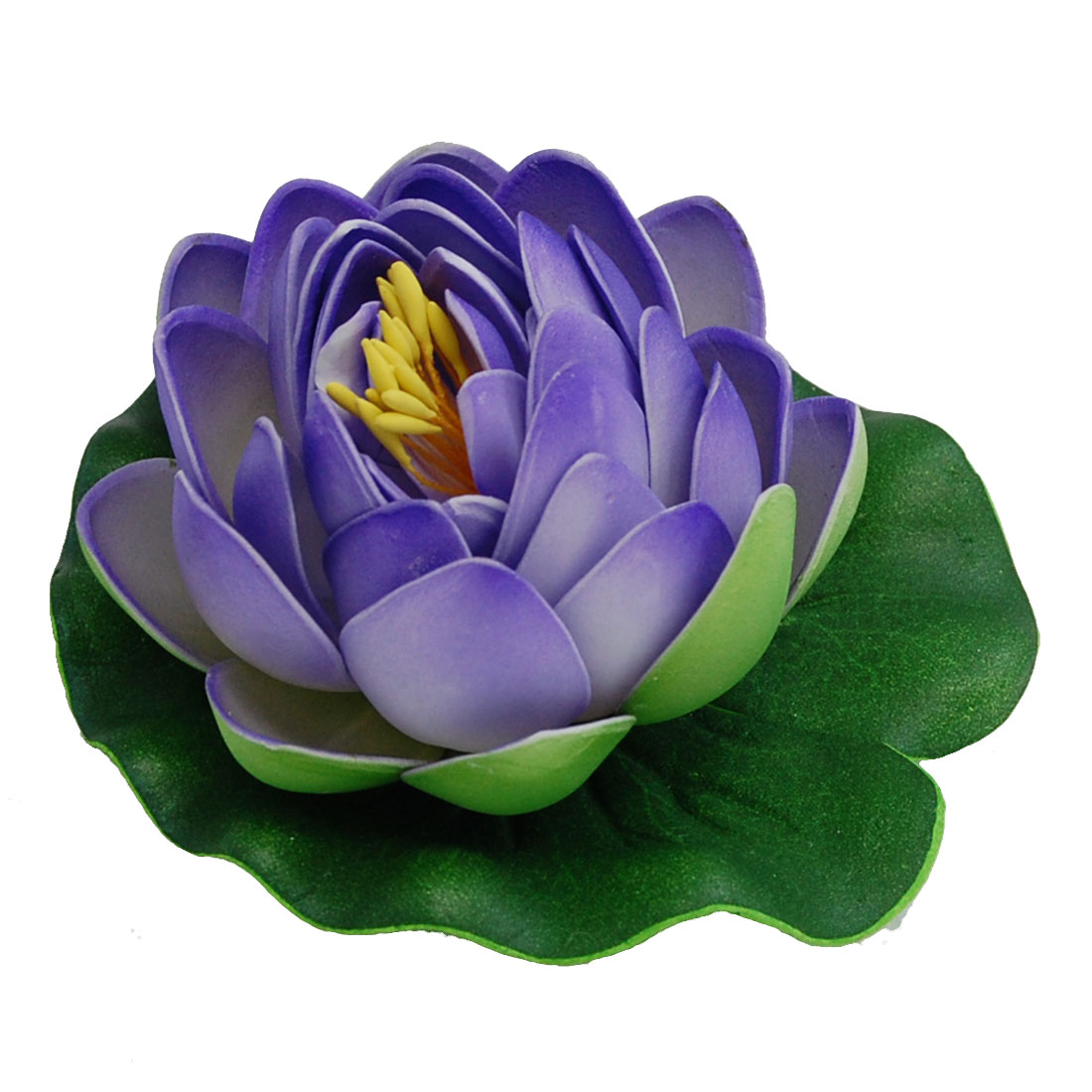 Beautiful Purple Lotus Fish Tank Aquarium Decoration