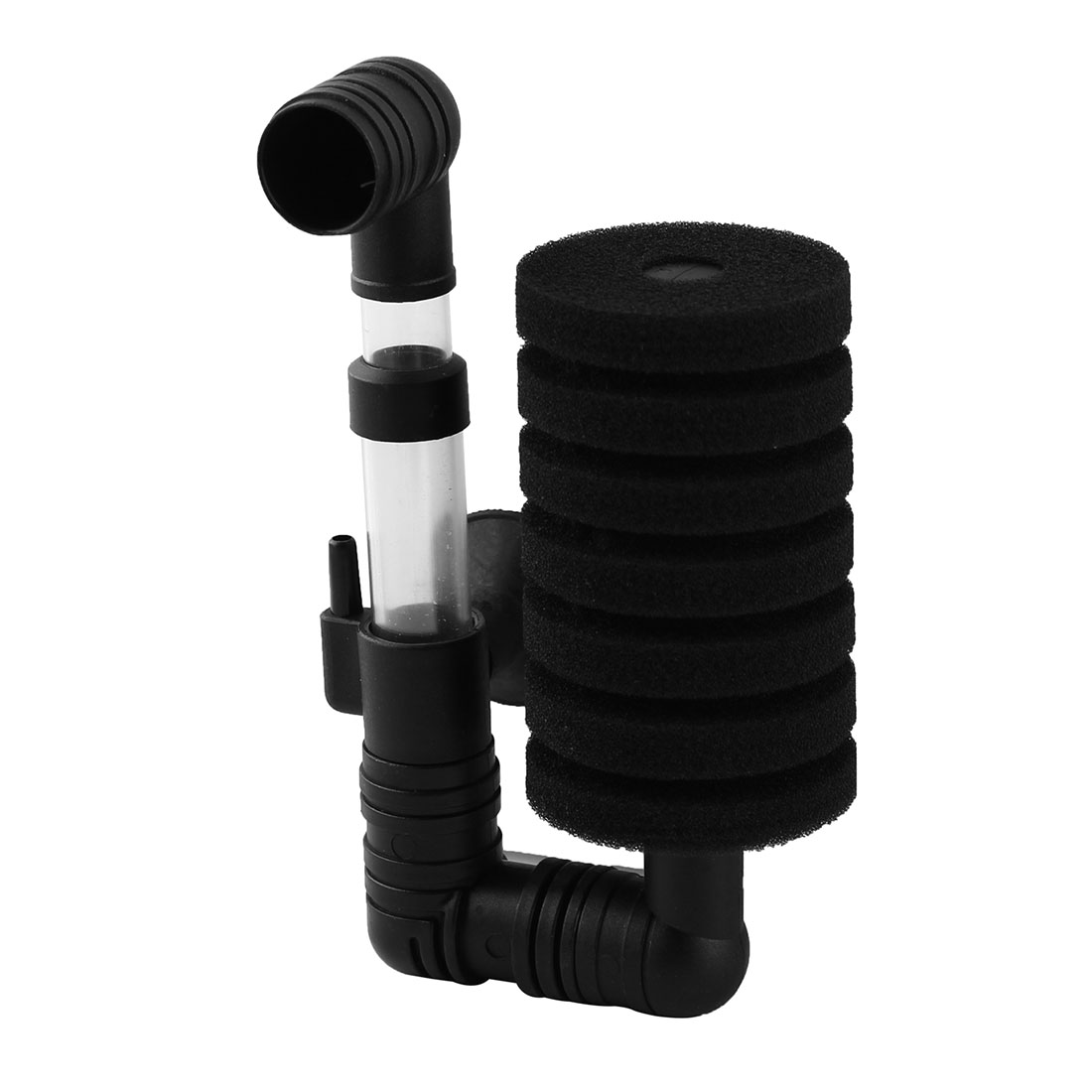 Aquarium Rainbow Bio-Sponge Filter Black