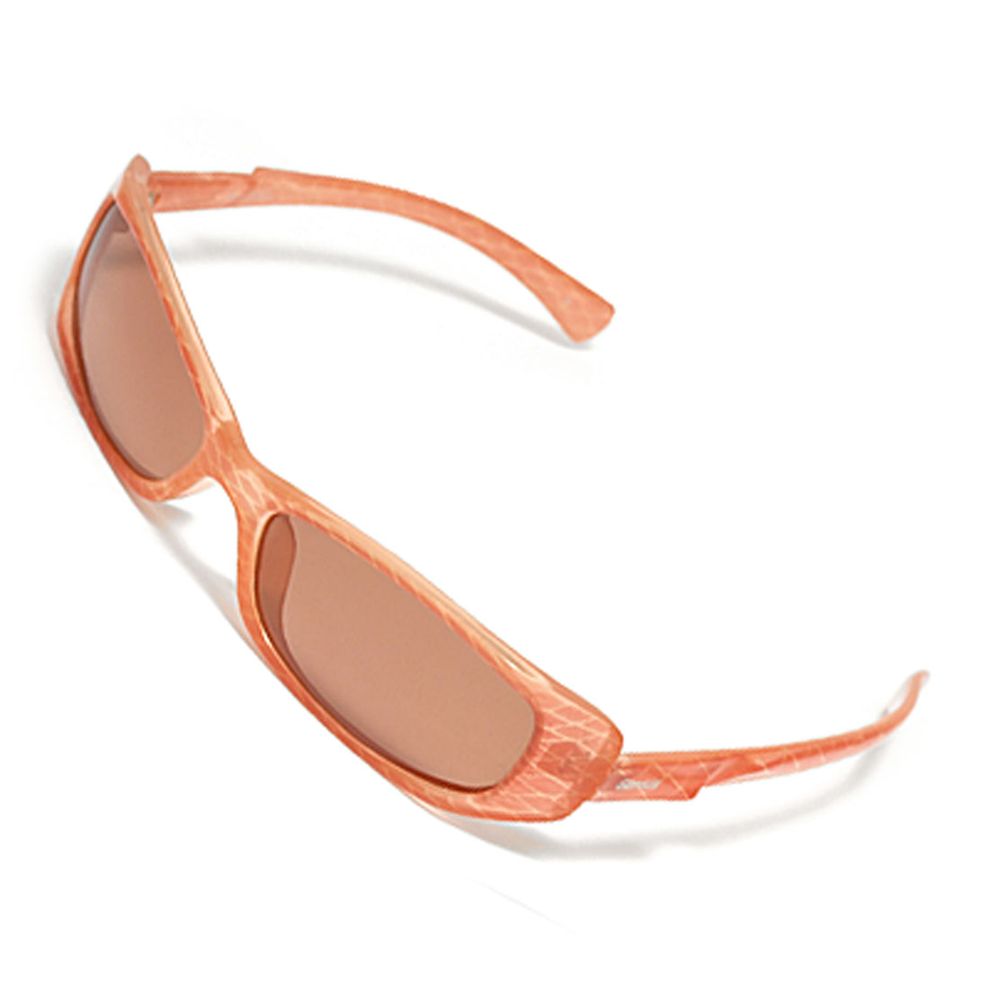 Plastic Frame Orange Ladies' Women's Polarized Sunglasses