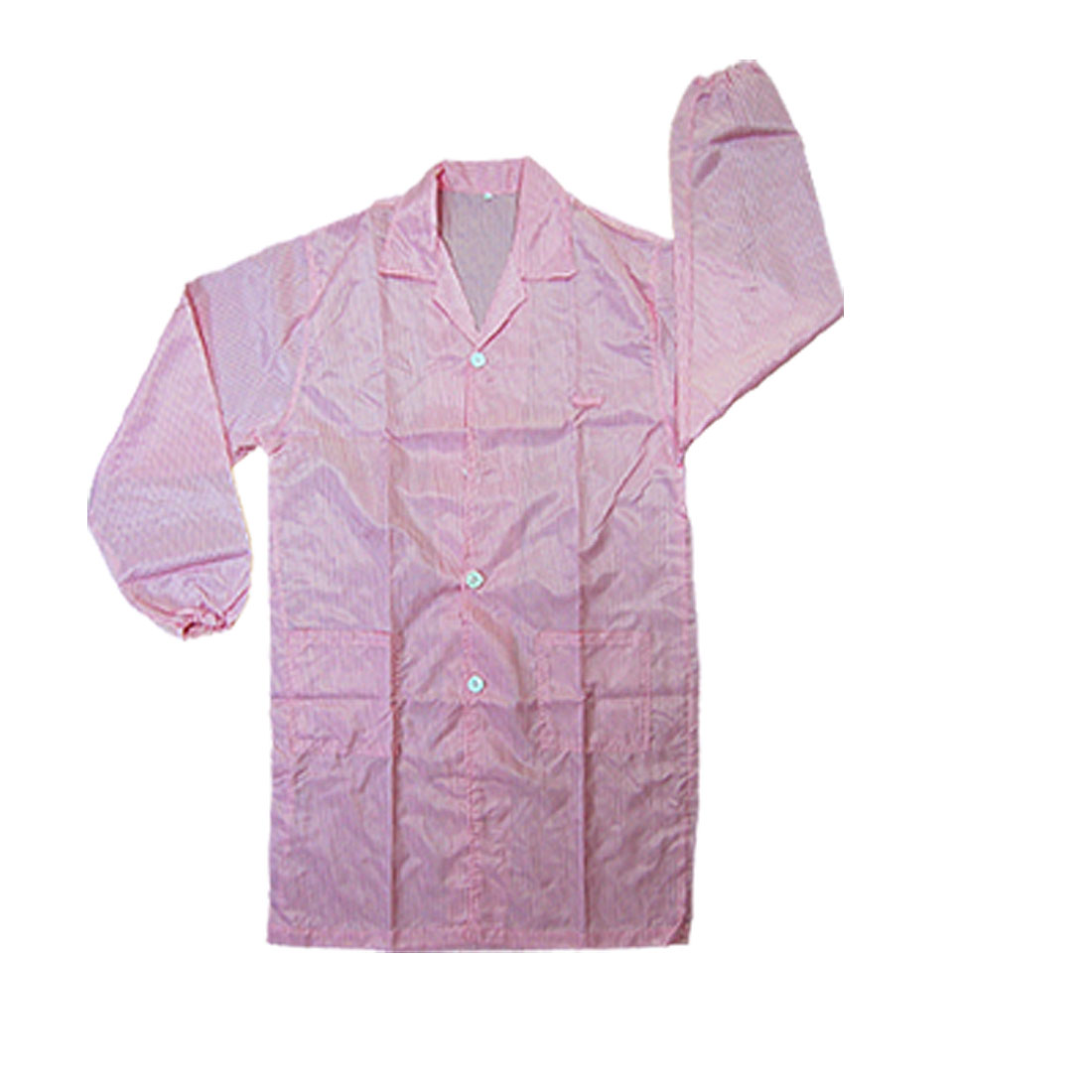 Pink Properties QA Anti-static LAB Coat Shirt L