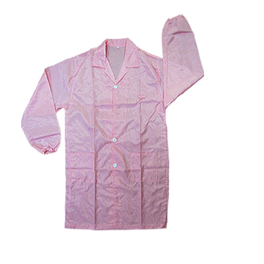 Pink Properties QA Anti-static LAB Coat Shirt L