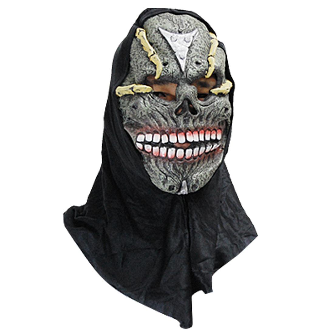 Dead Pawn Skull Rubber Halloween Mask
