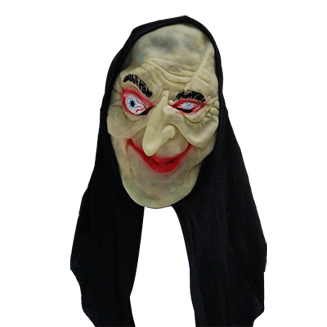 Red Mouth Fabulous Joker Halloween Mask