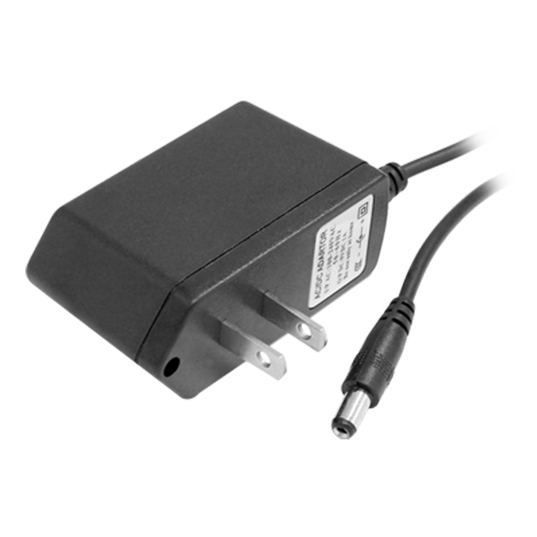 100-240VAC Power Supply Adapter 2 Terminal US Plug for CCTV Camera