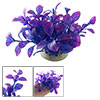 Vivid Purple Aquarium Tank Grass Plastic Plant