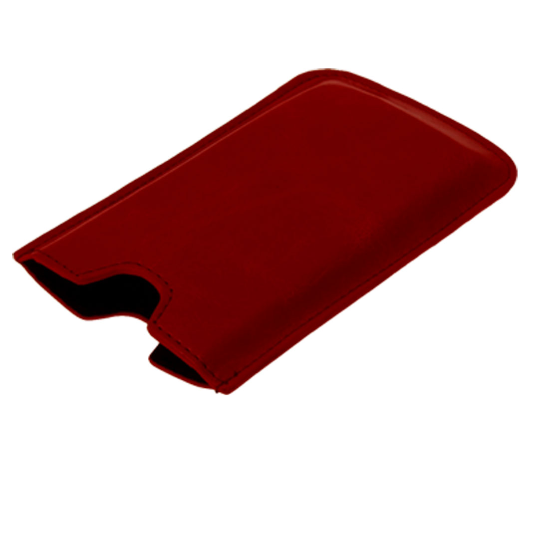 Fashion Red Protective Leather Pouch Case for iPhone 3G
