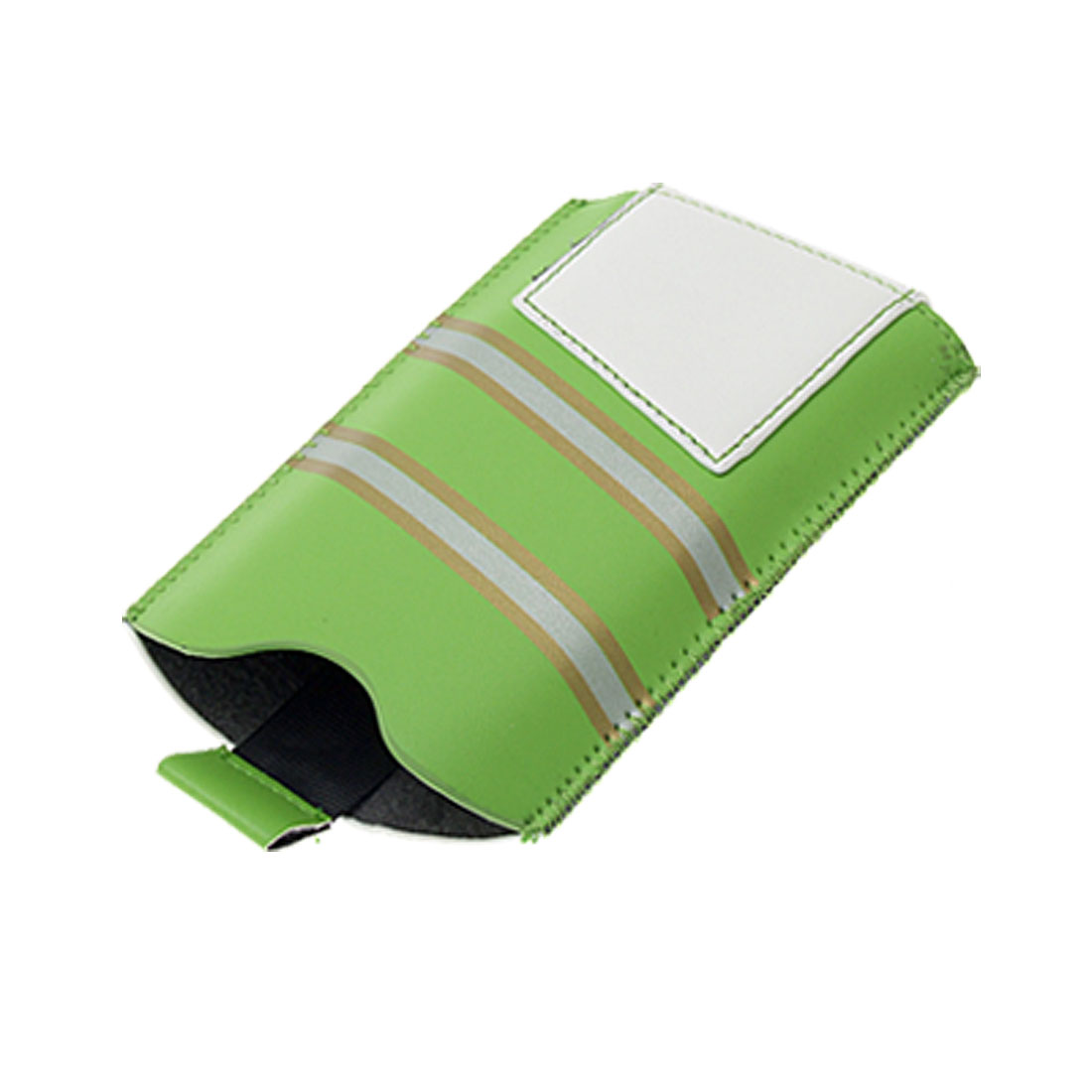 Faux Leather Pouch Hand Strap Carry Case for iPhone 3G