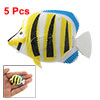 5 pcs Colorful Plastic Floating Fish Decoration for Aquarium