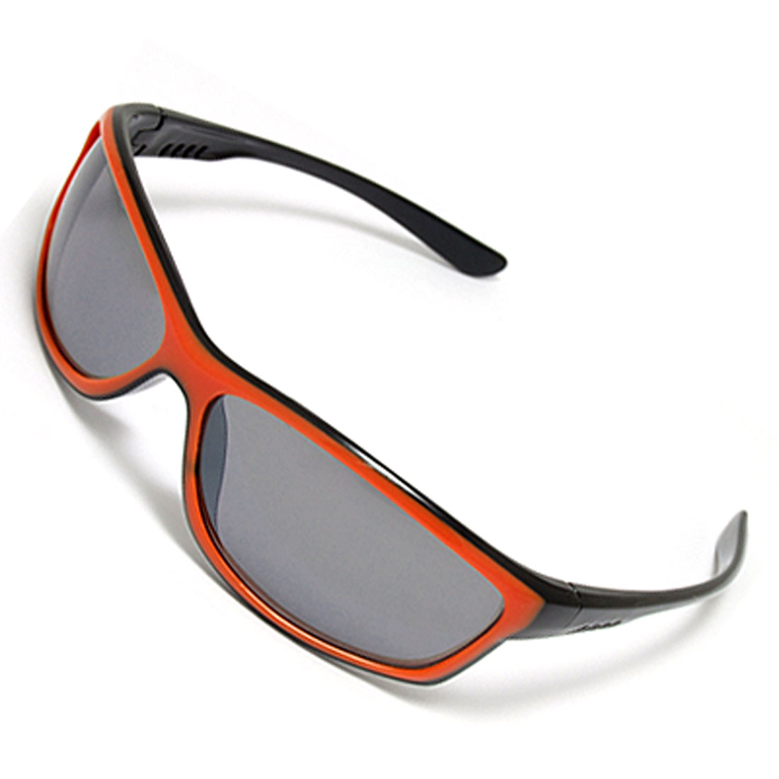 Yellow Black Plastic Cool Unisex Sports Sunglasses