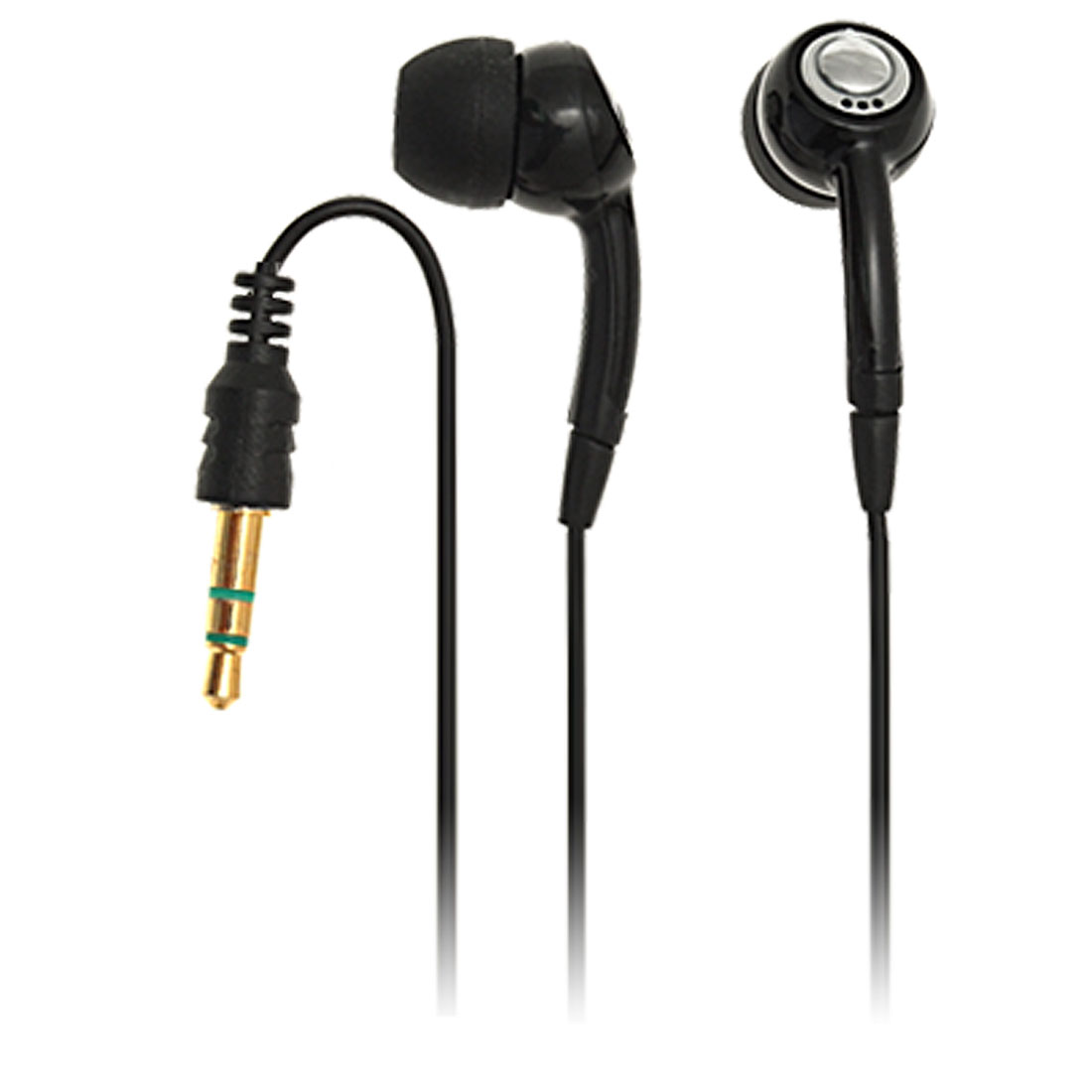 Black MP3 Headset Headphone for Nokia 6230 7610