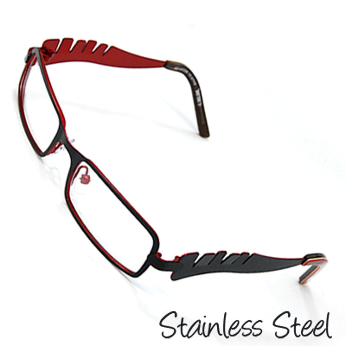 Kids' Stainless Steel Optical Eyeglasses Frame Black