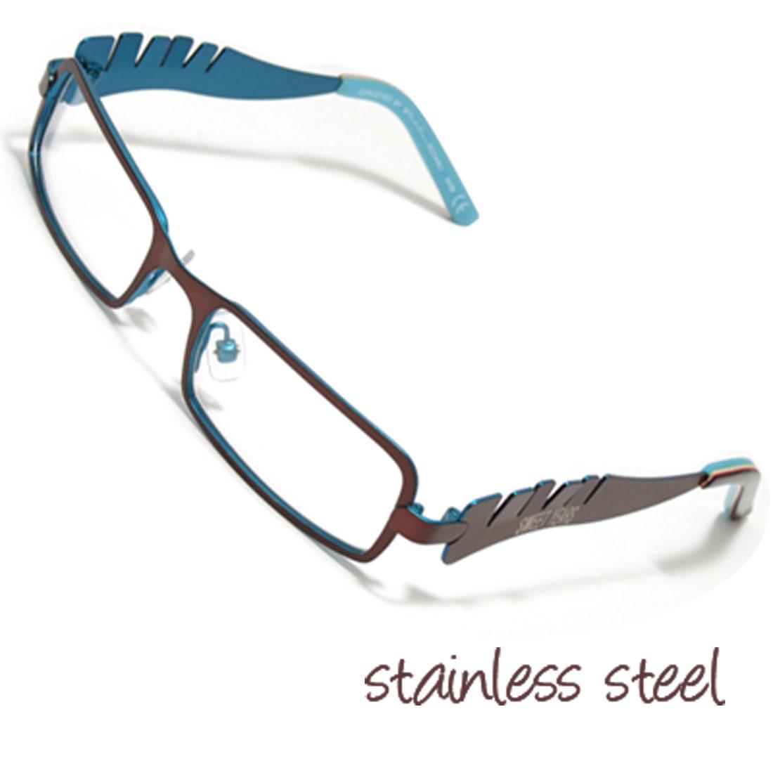 Full Rim Children's Stainless Steel Optical Eyeglasses Frame