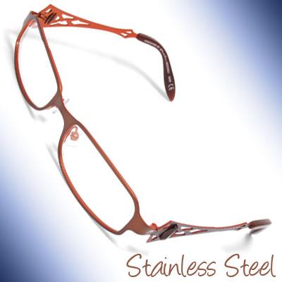 Ladies Full Rim Steel Optical Spectacle Eyeglasses Frame