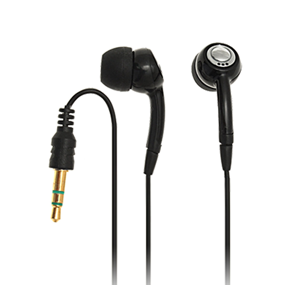 In-ear Handsfree Headphone Earphone for iPhone 3G Black