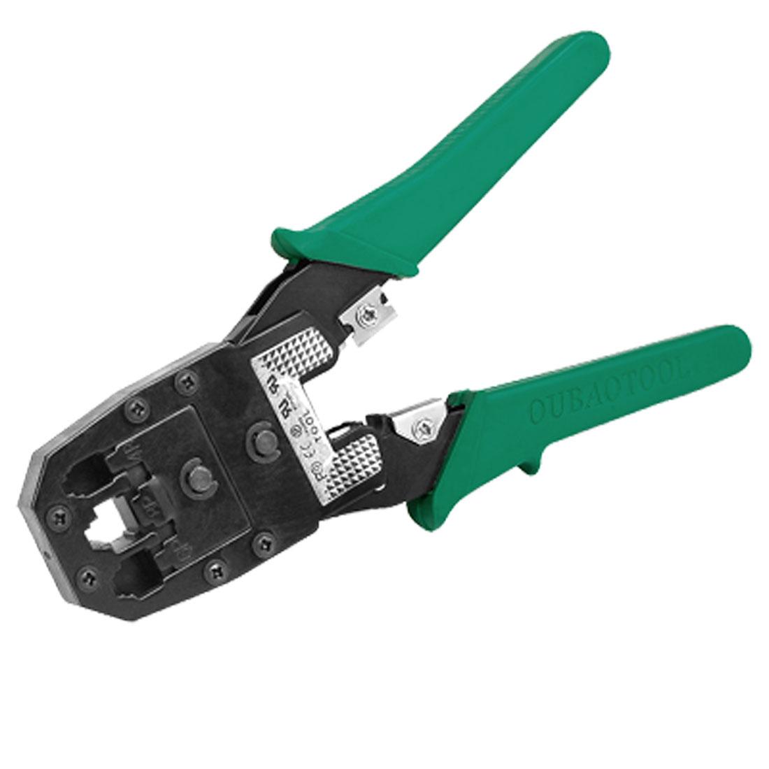 RJ45 RJ11 RJ12 8P8C Crimper Crimping Network Pliers Tool