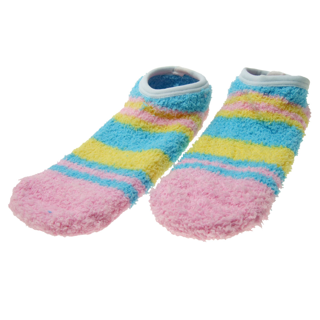 Skidproof Soft Plush Household Ladies' Pair Floor Socks