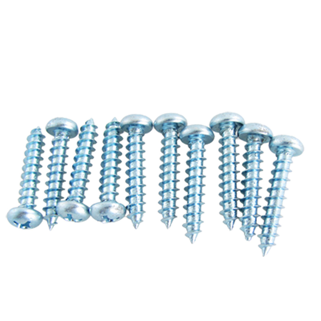 10 Quadrex Pan Head Self Tapping Screw 34mm Length