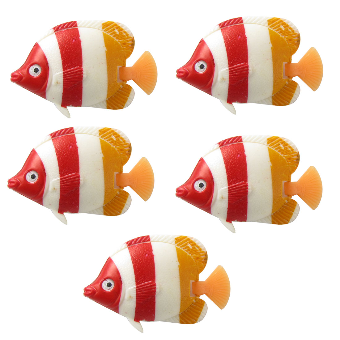 Charming Realistic Floating Plastic Fish Aquarium Ornament