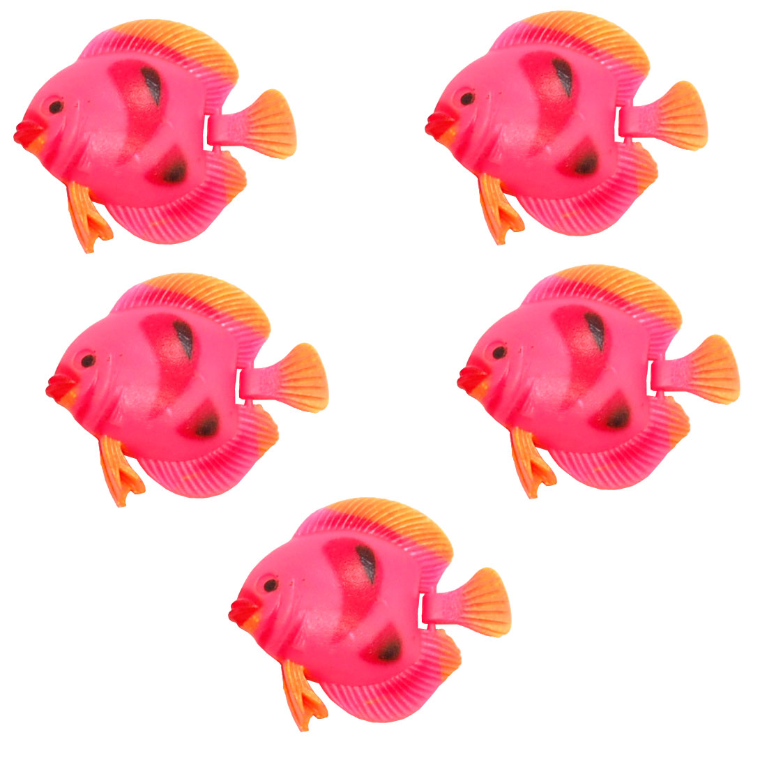 Mini Plastic Floating Fish Ornament for Aquarium