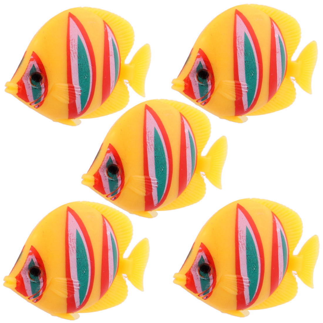 Plastic Floating Lifelike Fish Ornament for Aquarium