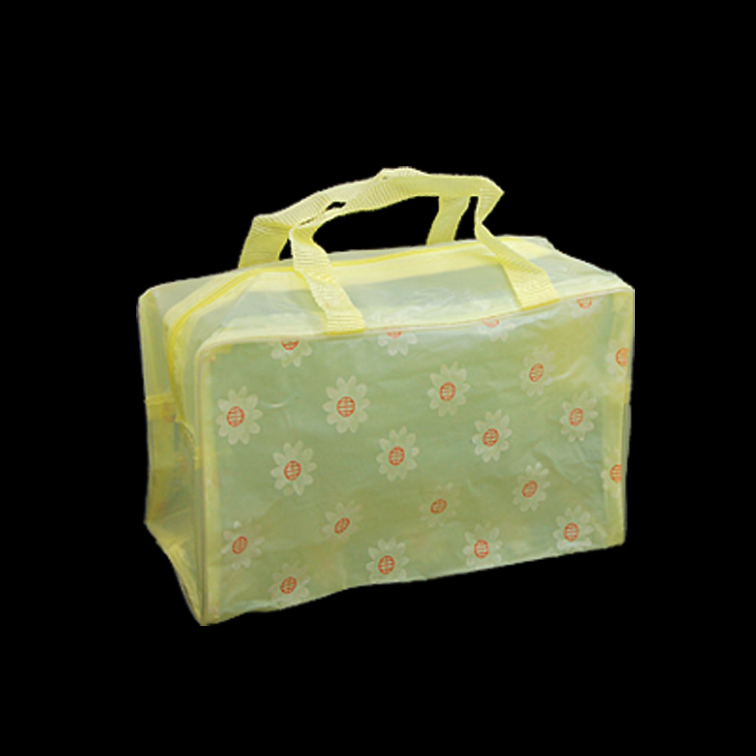 Stylish Attractive Yellow Girls' Cosmetic Tote Handbag