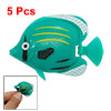 Plastic Floating Charming Fish Aquarium Green
