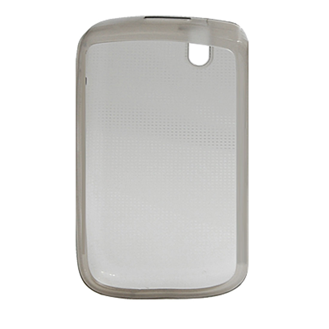 Clear Gray Phone Soft Plastic Case for Blackberry 9630