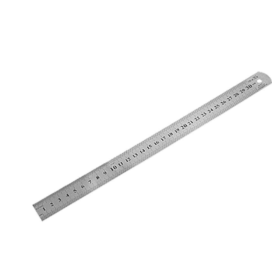 Stainless Steel Ruler Measure Metric Function 30cm 12Inch