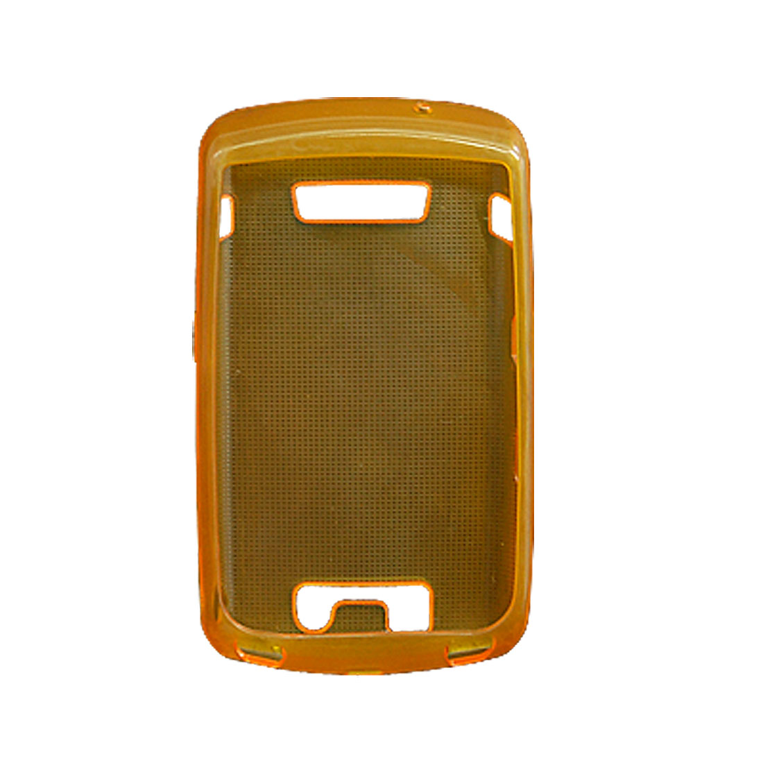 Soft Plastic Case Protector for Blackberry 9500 9530 Yellow