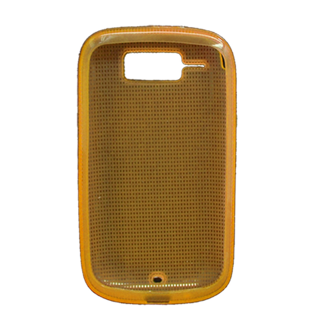Orange Protective Soft Plastic Case for HTC T4242 Cruise