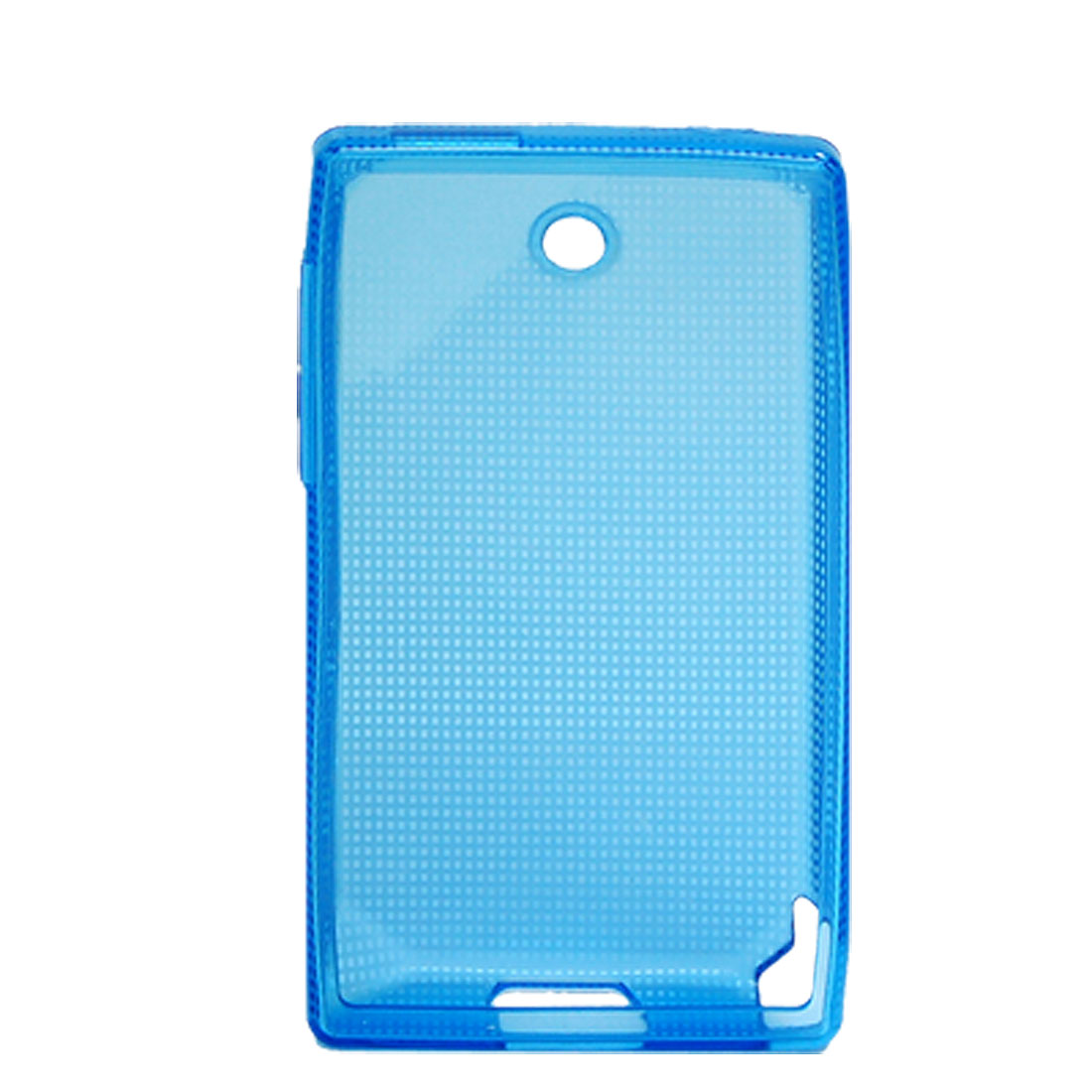 Plastic Cover Soft Case Blue Protecter for HTC Diamond