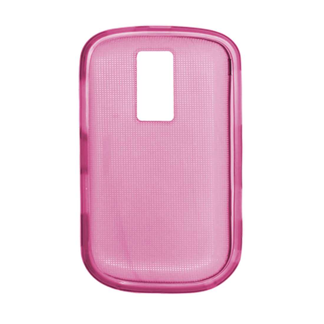 Protective Cover Pink Shield Guard Soft Plastic Case for Blackberry 9000