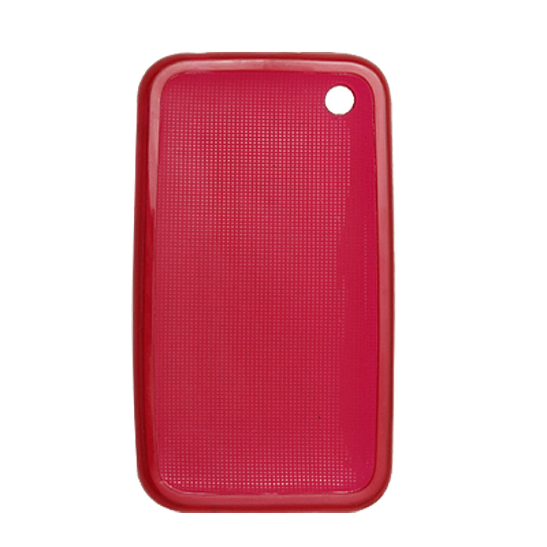 Red Soft Plastic Skin Case Cover for Apple iPhone 3G