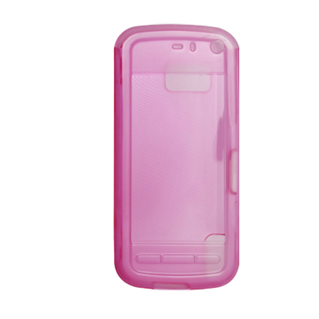 Pink Soft Plastic Protector Cover Case for Nokia 5800