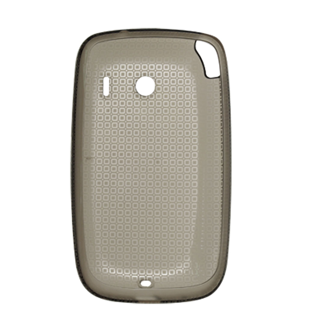 Gray Soft Plastic Protective Case for Dopod Touch Viva